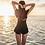 Thumbnail: SN18436 Lace Pant One Piece Swimwear