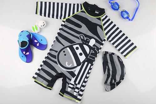 KYM9821 Zebra One Pice Kidswear