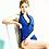 Thumbnail: RSN17671 三角拉链连体配罩杯2件套
