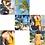 Thumbnail: SN19435 Yellow Round Neck Monokini