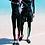 Thumbnail: CSN17889情侣长袖长裤拼色泳装