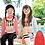 Thumbnail: KYS6137 SurfClub字母长袖女童泳装