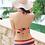 Thumbnail: SCH6202民族复古大罩杯比基尼三件套