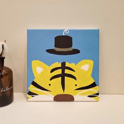 Number Oil Painting Animal Series 数字油画动物系列