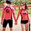 Thumbnail: RSN1648 ONLY MEN Rose Pink Rash Guard set