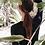 Thumbnail: SN1689 粉字母黑长袖分体泳装