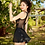 Thumbnail: RSNN19367 Halter Back Assorted Gauze Dress One Piece