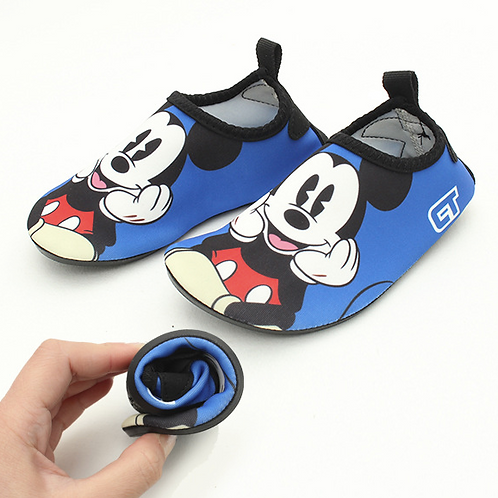 KDS1001 Mickey Minnie Kids Beach Footwear