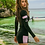 Thumbnail: SN18085长袖拉链高腰三件套泳装