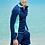 Thumbnail: RCHM1728 蓝绿情侣长袖女款4件套男款2件套