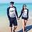 Thumbnail: RCSN178219 城市时尚情侣长袖泳装
