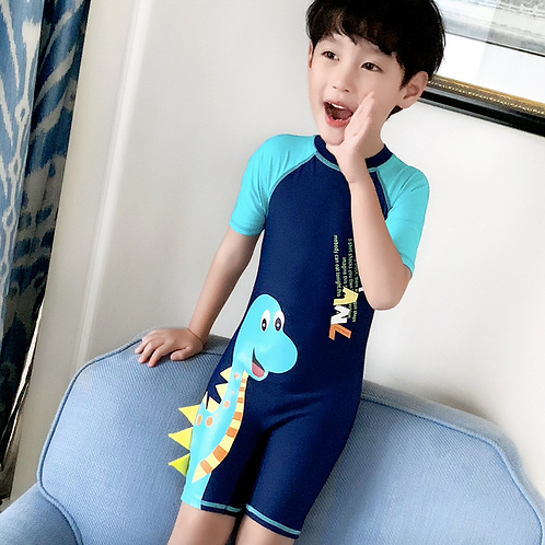 KYY38212 Dinosaur Kids One Piece Swimwear