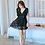 Thumbnail: RSN190278 Plus Size Deep V Dress Type Swimwear