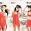 Thumbnail: SCH4103 聚拢大罩杯多种穿法纯色三件套比基尼