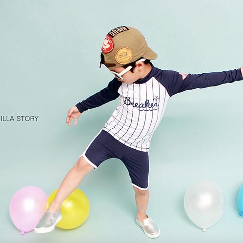 RKYS6133 运动型长袖男童泳衣