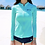 Thumbnail: SKSD1739浅蓝白拉链长袖3件套泳装