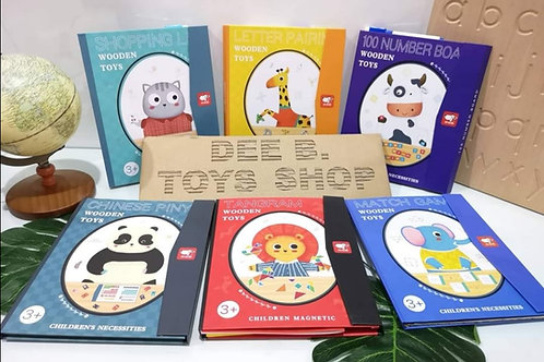 Magnetic Books various theme 各种主题磁力书