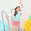 Thumbnail: KN1844 鹤鸟长袖裙式女童泳装