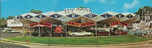 Bob Peck Chevrolet - courtesy Mia Musolino