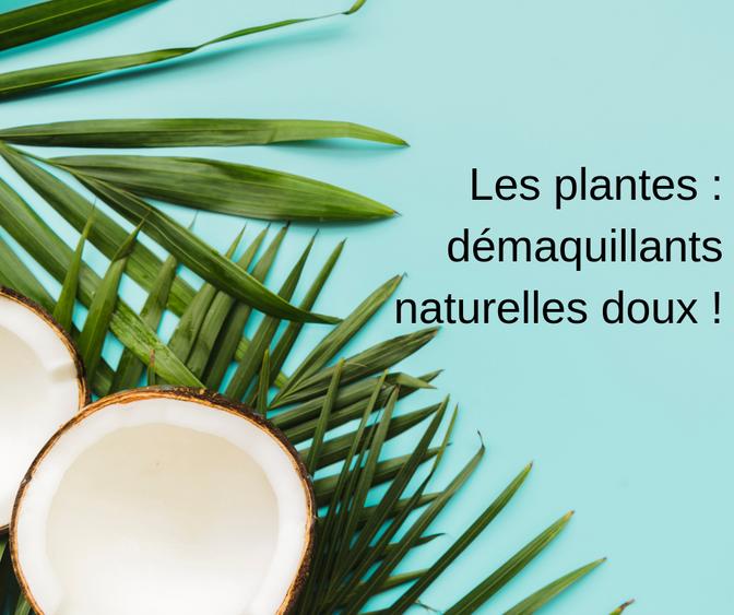 Les plantes : démaquillants naturelles !