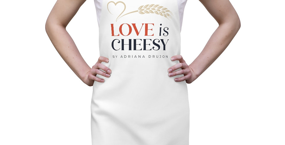 Love is Cheesy Apron