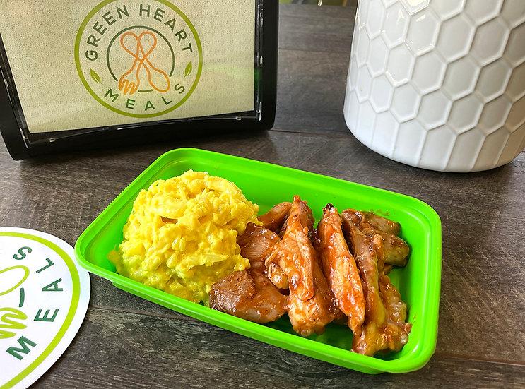 BBQ Chicken Caulimac