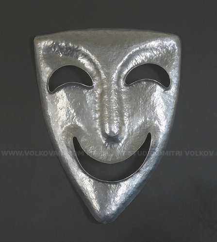 Wall Art Decoration - Comedy Greek Theater Mask.