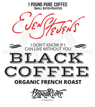 Even Stevens Black Coffee French Roast