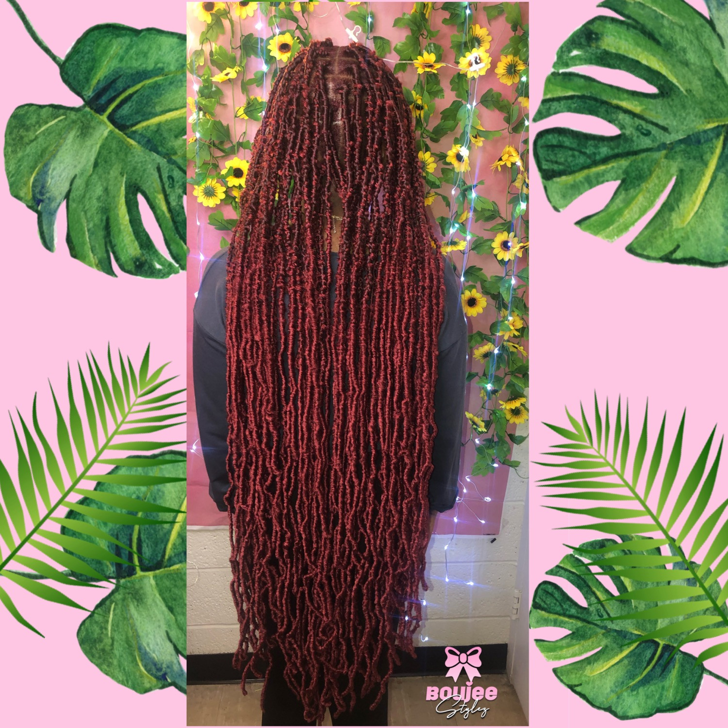 Ext passion soft locs hair included