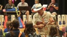 Group Donates Ukuleles to Callaway Elementary School