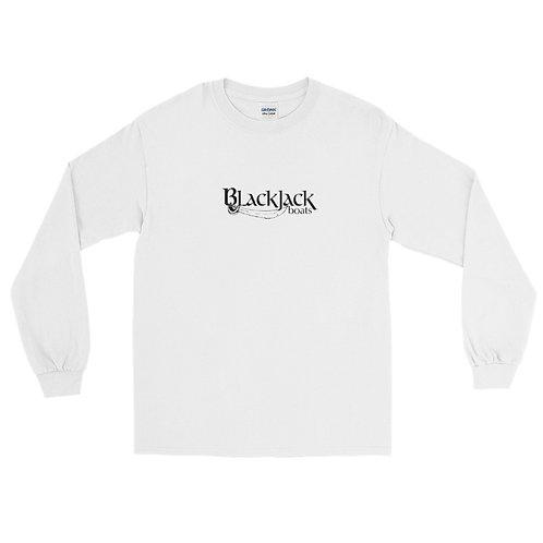 Saltwater Seduction BlackJack Men's Long Sleeve Shirt