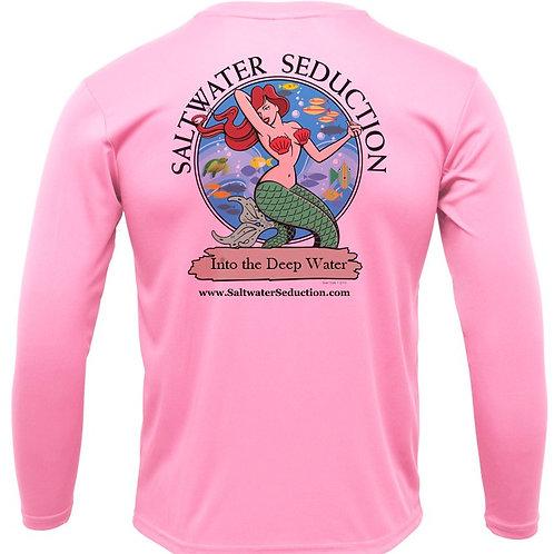 Saltwater Seduction Pink Fishing Shirts