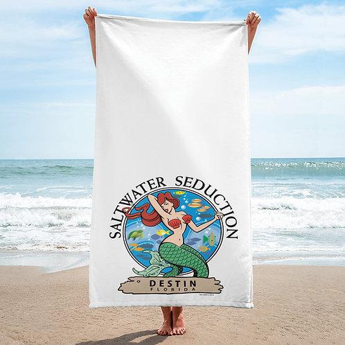 Saltwater Seduction Destin Beach Towel