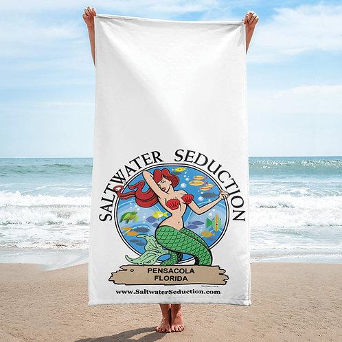 Saltwater Seduction Pensacola FLA Beach Towel