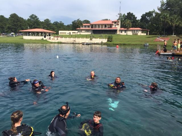 Underwater Adventures Scuba Diving Class Open Water Certification