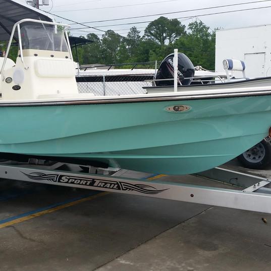 Frontier Boat