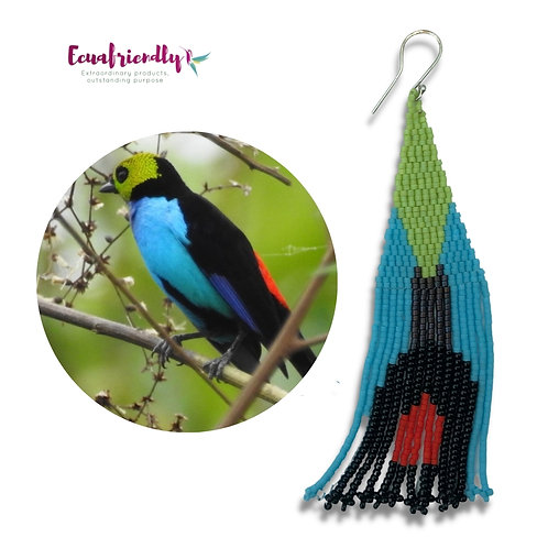 Paradise Tanager - Earrings
