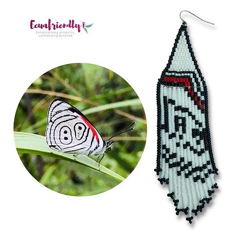 The 89 or 88 butterfly - Earrings