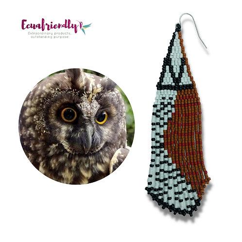 Stygian owl - Earrings