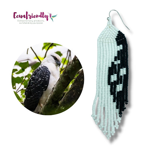 White Hawk - Earrings