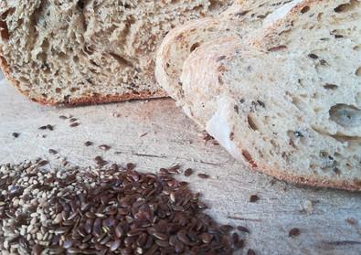 el rumbo - pan semi integral con semilla