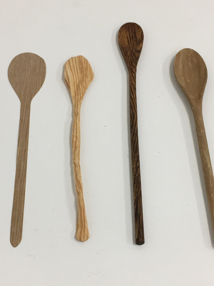 Big Spoon: Faux Bois Material Study