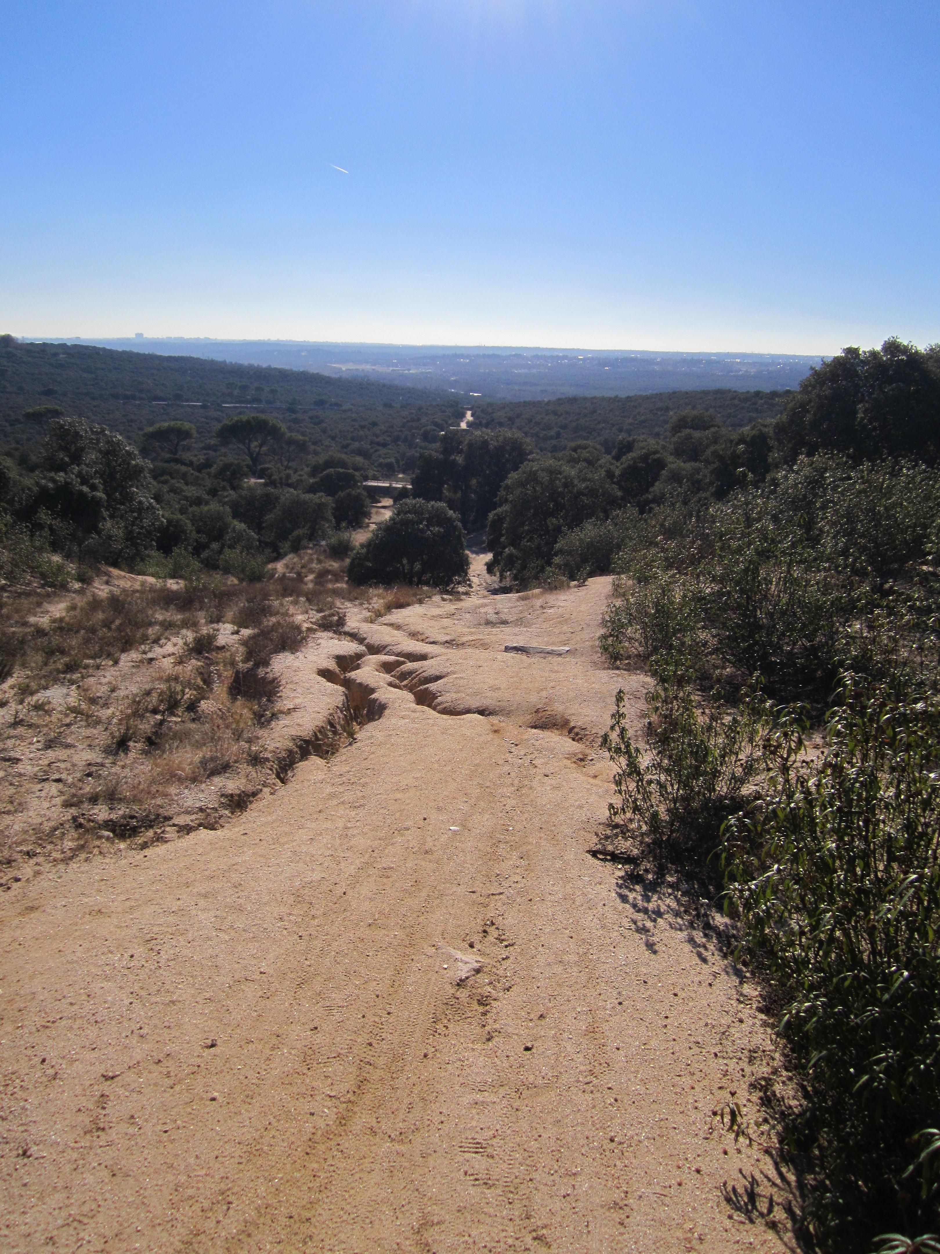 MTB adventure Madrid Spain