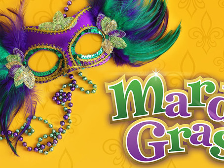What is the connection between Mardi Gras and Real Estate?