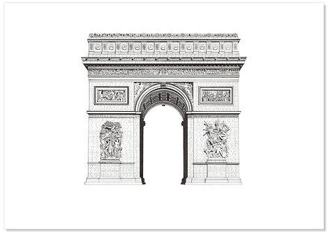 A2. Arc De Triomphe.