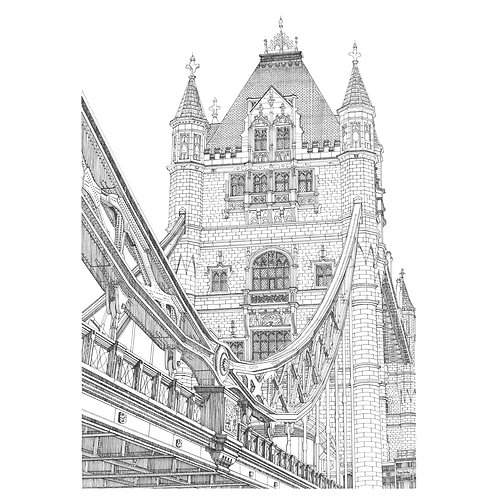 """TOWER BRIDGE 1, LONDON"""