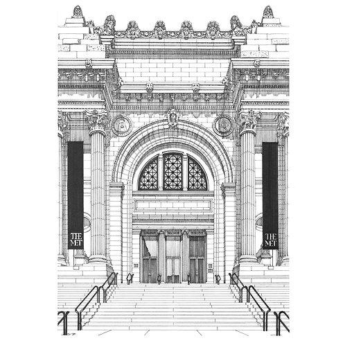 """""""THE METROPOLITAN MUSEUM OF ART, NEW YORK"""""""