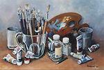 Tableau de l'artiste peintre BIDERMANN Guillaume acrylique galerie achat vente