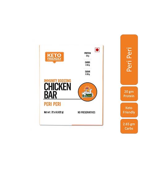 Peri Peri - 20 Gms Chicken Protein Bars (6 Bars X 65 Gms)