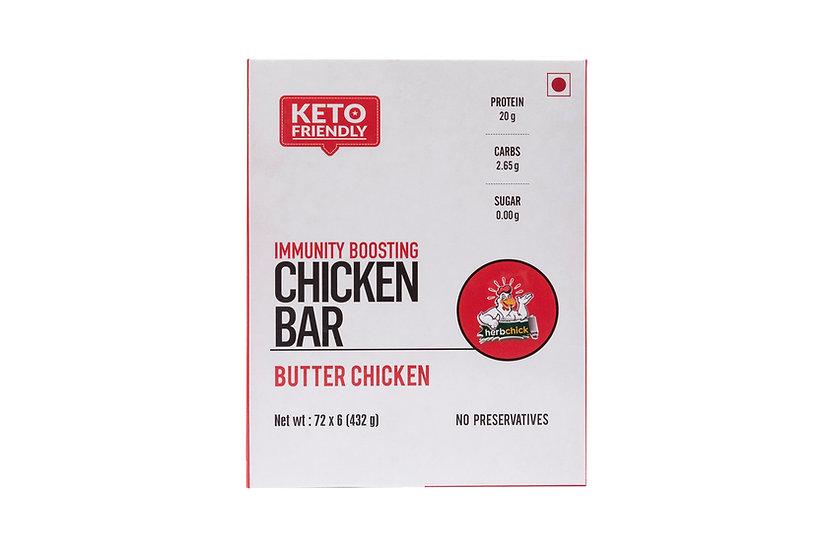 20 Gms Chicken Protein Bars - Butter Chicken (6 Bars X 65 Gms)